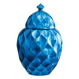 Vaso in ceramica Azzurra