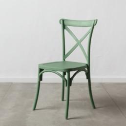 Set 4 sedie Taormina polipropilene verde