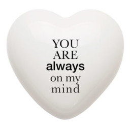 Heart gallery cuore ceramica ALWAYS