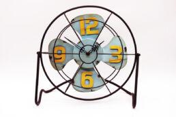 Orologio ventilatore metallo