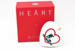 Hearth gallery cuore ceramica AMORE IN CORSO