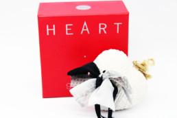 Heart gallery cuore ceramica FIOCCO
