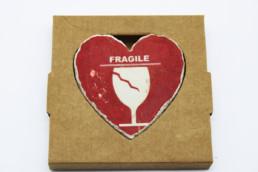 Cuore in pietra Fragile