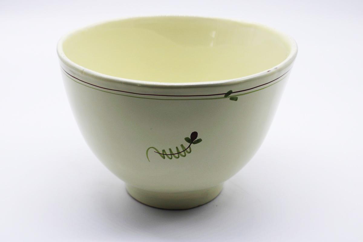 Coppa in ceramica colore avorio