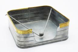 Portatovaglioli in metallo con fermo