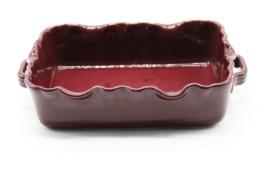 Teglia da forno bordo merlato bordeaux