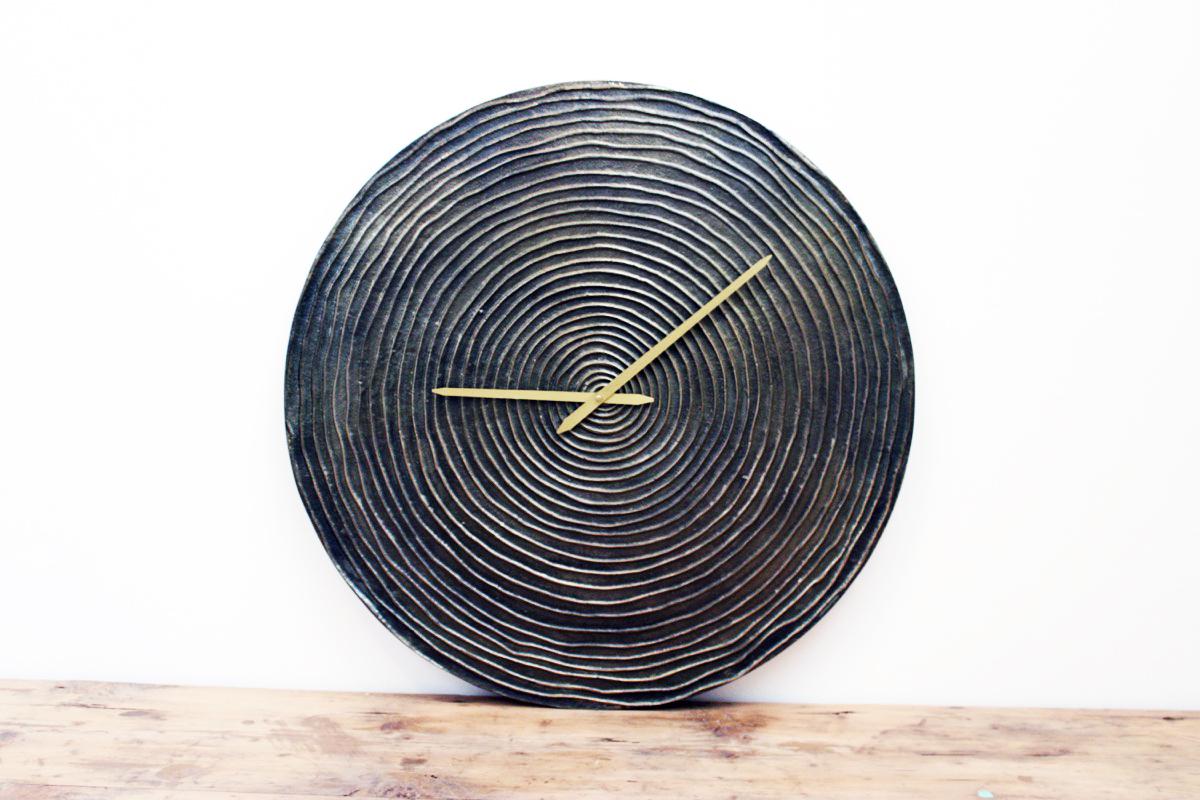 Orologio metallo segni