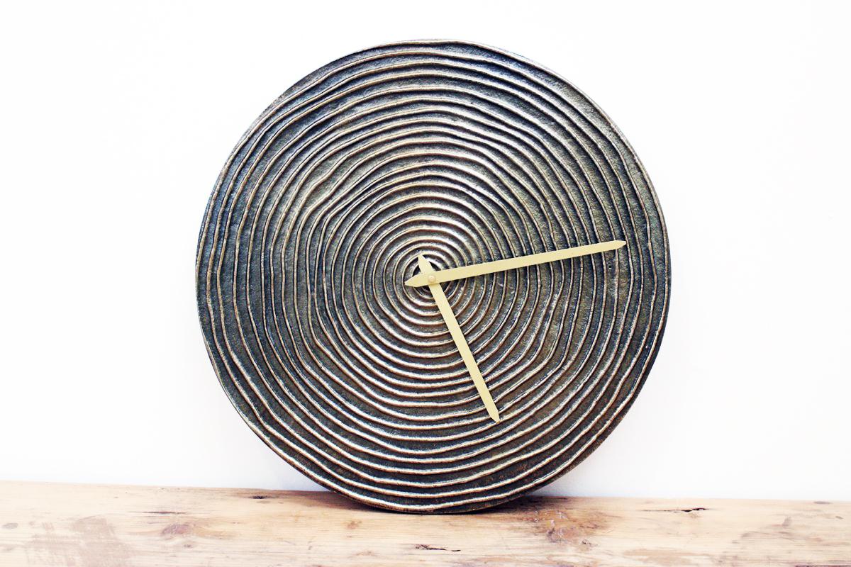 Orologio metallo segni small