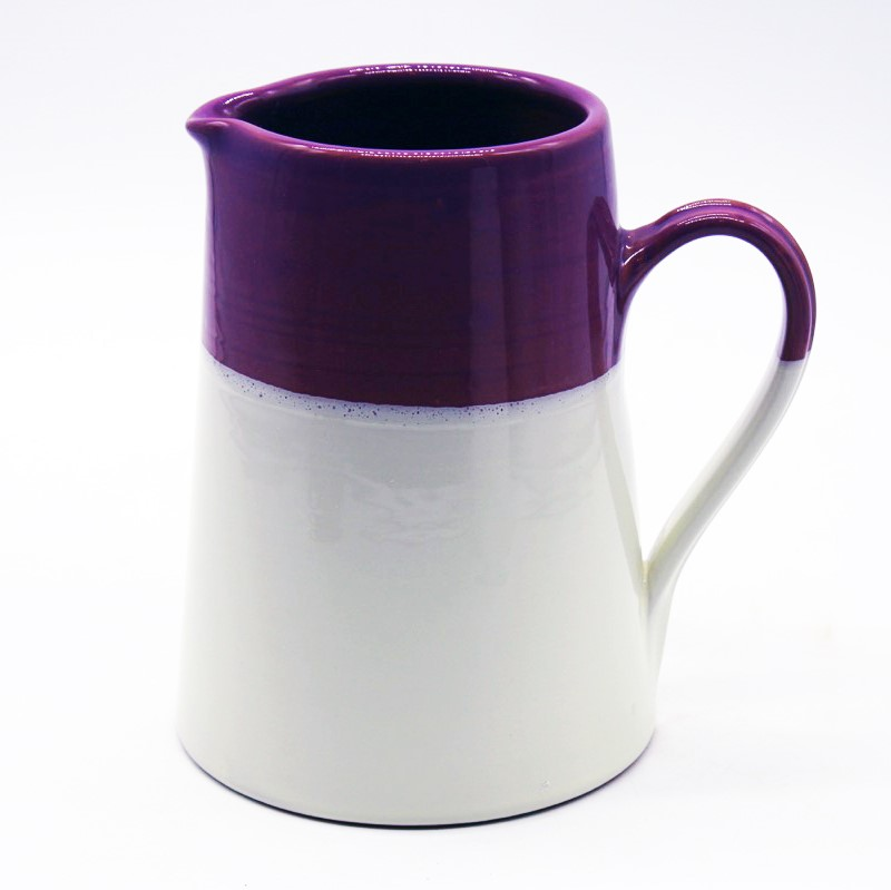 Brocca bicolore viola