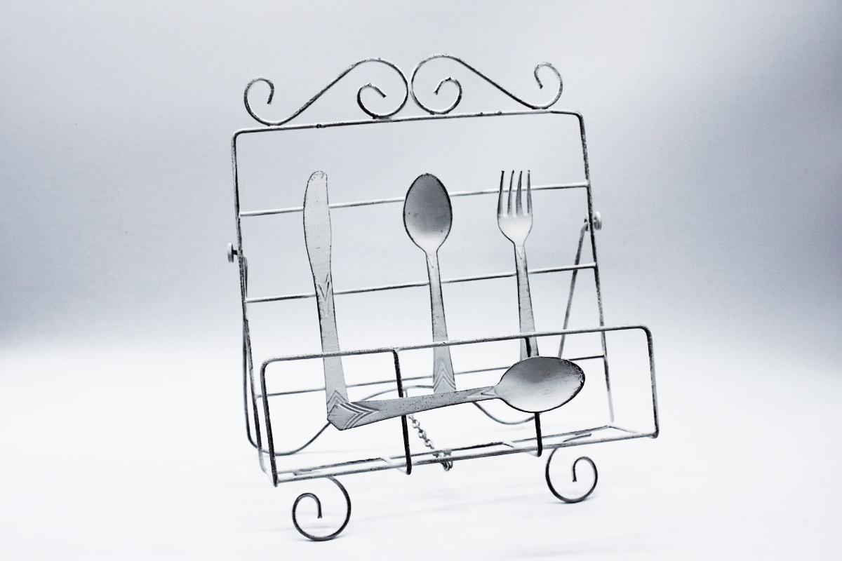 Leggio da tavolo in metallo verniciato