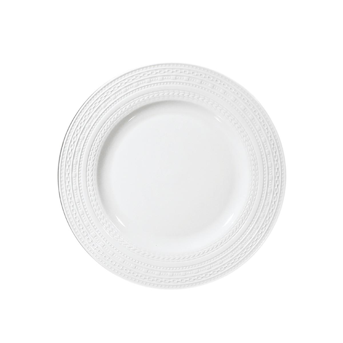 Casale - Pezzi 6 - piatto frutta falda cm 19