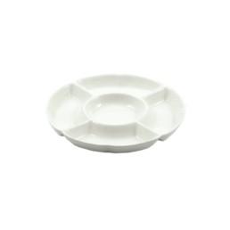 Convivio -Antipastiera rotonda 5 scomparti