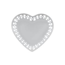 Firenze -Piatto cuore traforato cm 21