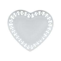 Firenze- Piatto cuore traforato cm 24