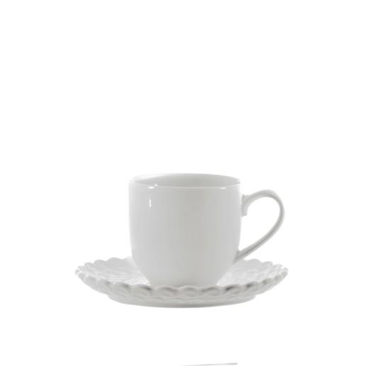 Momenti -Servizio caffè 6 pezzi con piattino