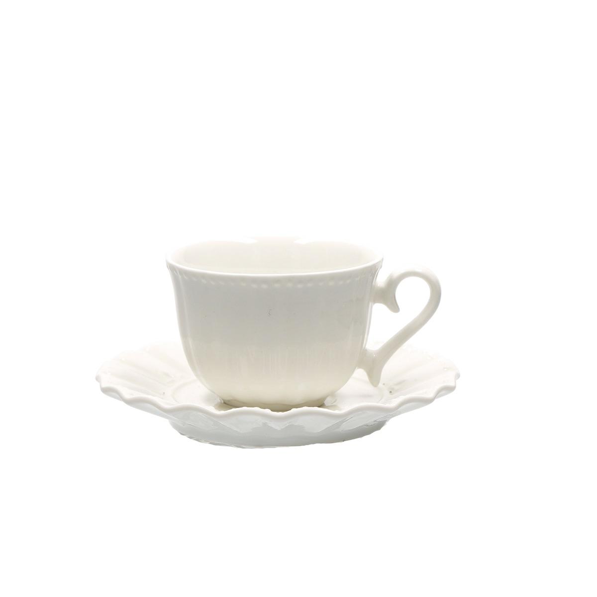 Ducale - Tazza caffè con piattino