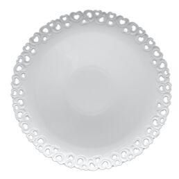 Valentino - Piatto torta traforato cm 34