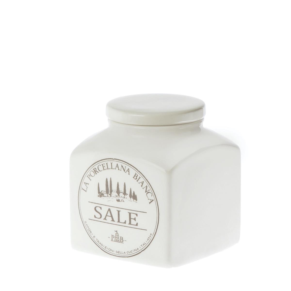 Conserva barattolo sale