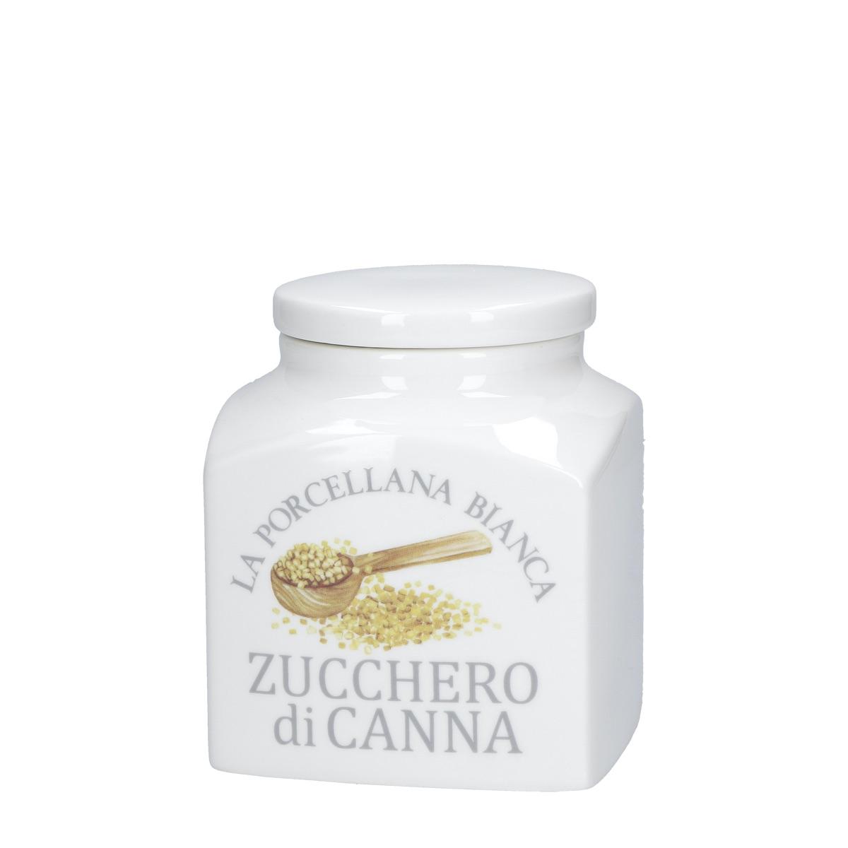 Conserva barattolo déco zucchero di canna
