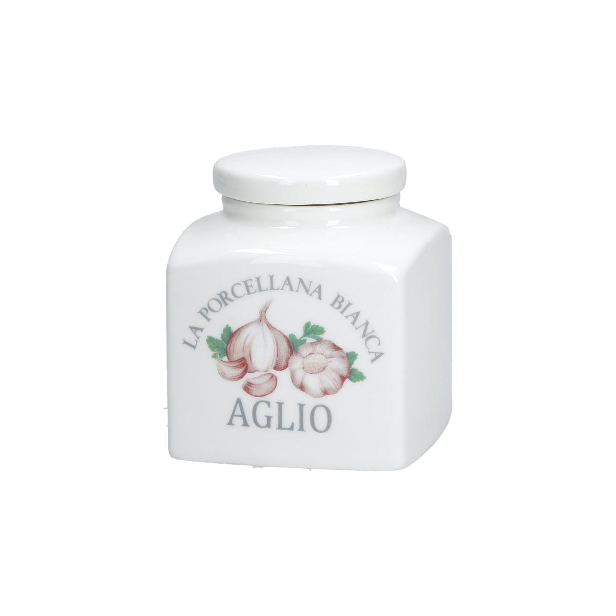 Conserva barattolo déco aglio