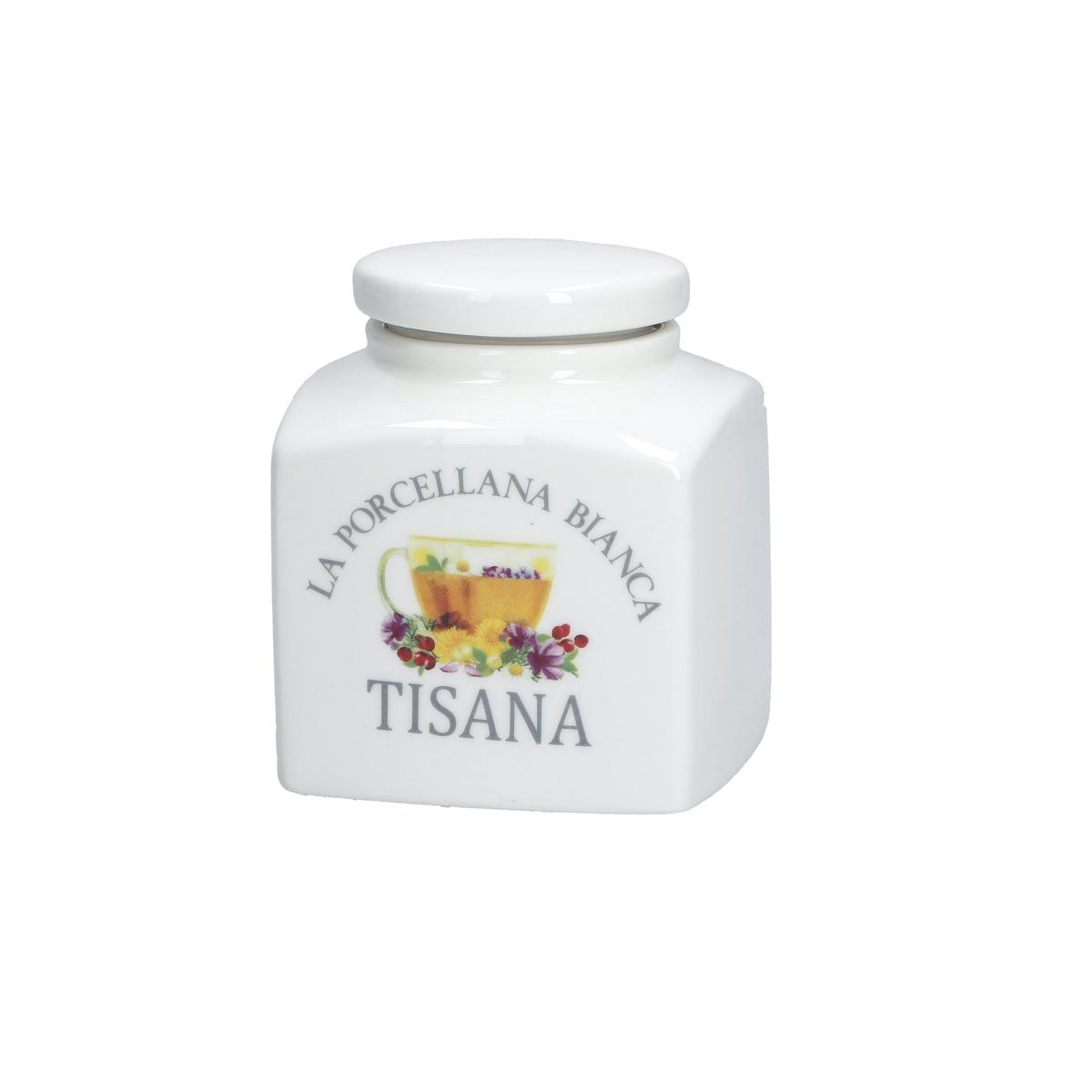Conserva barattolo déco tisana