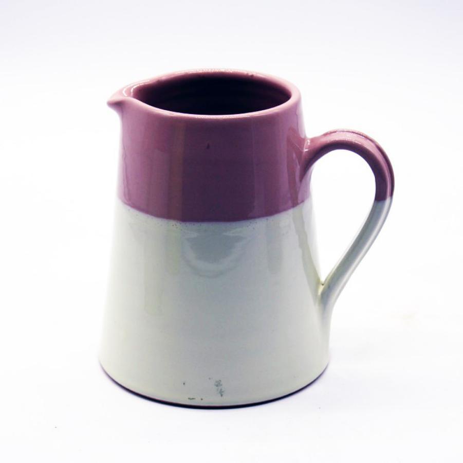 Brocca bicolore rosa