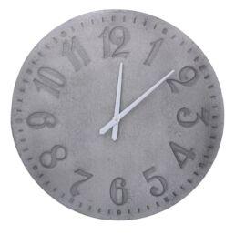 Orologio legno grigio