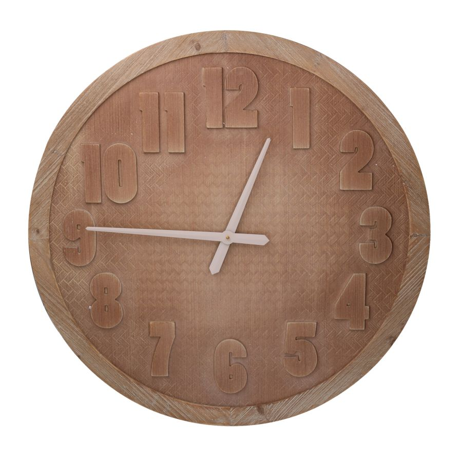 Orologio legno marrone