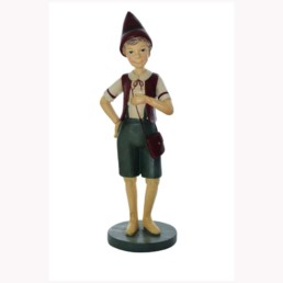 Pinocchio statuina in resina