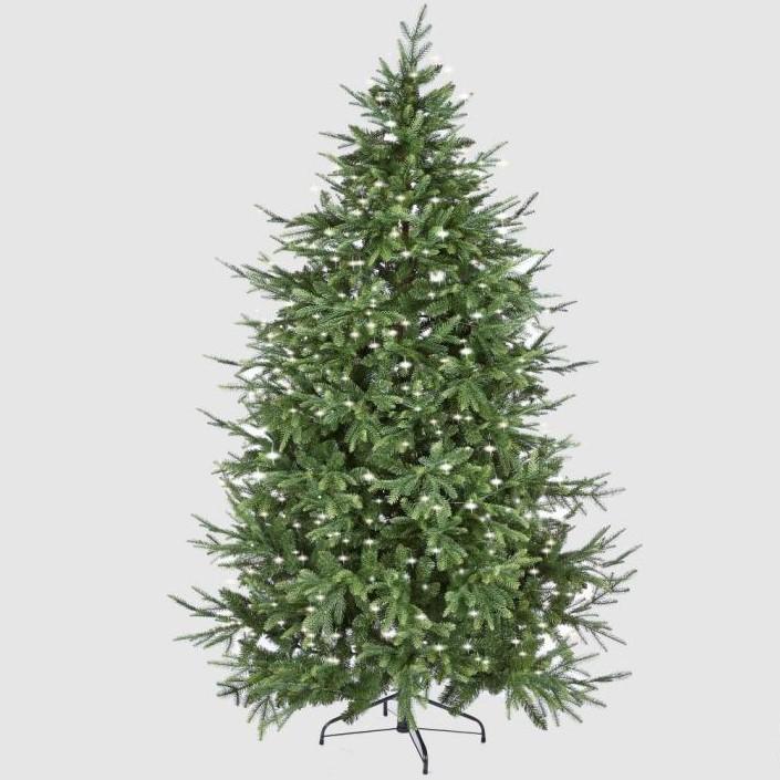 Albero di Natale Pino Luxury con led
