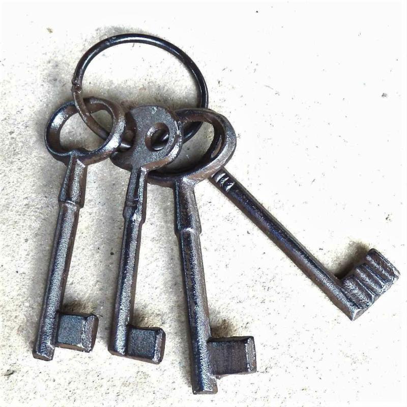 Mazzo chiavi in ferro - 4