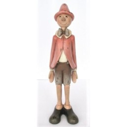 Statuina Pinocchio rosa