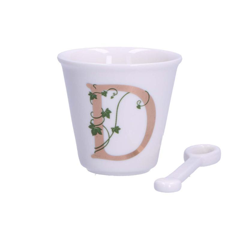 Unico – Tazza caffè con cucchiaino – D