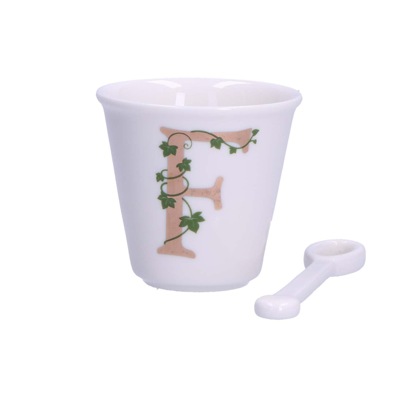 Unico - Tazza caffè con cucchiaino - F