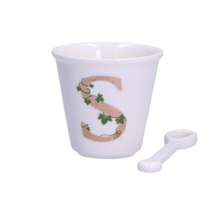 Tazza caffè con lettera Unico