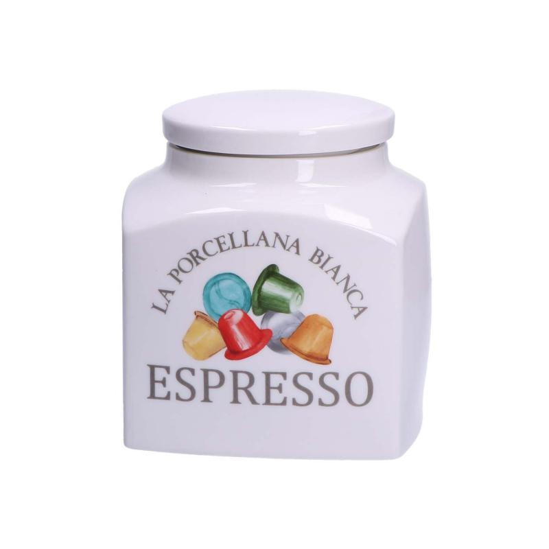 Conserva - Barattolo Deco Espresso