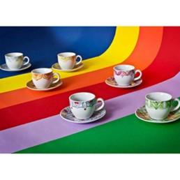 Servizio 6 tazze ta caffe' Venezia