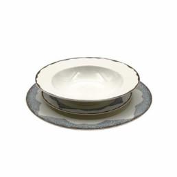 Servizio piatti riflessi
