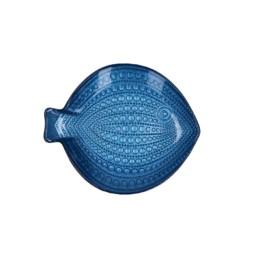 Piatto decorativo Susanna blu