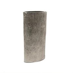 Vaso in alluminio graffiato L