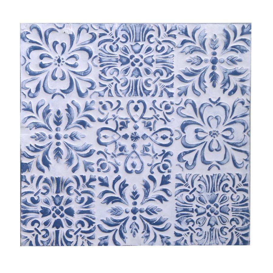 Quadro legno blu