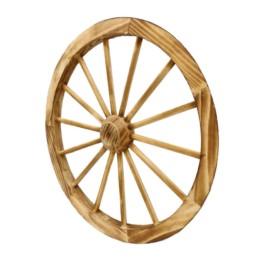 Decorazione ruota in legno