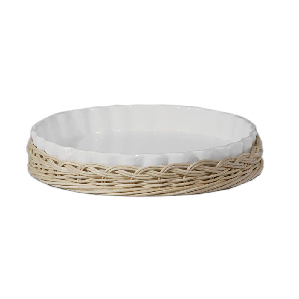 Supporto in midollino per teglia crostata Arezzo