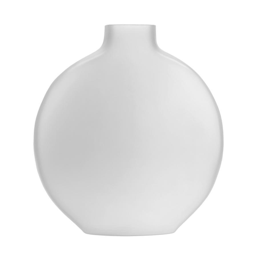 Vaso Evanescente tondo bianco