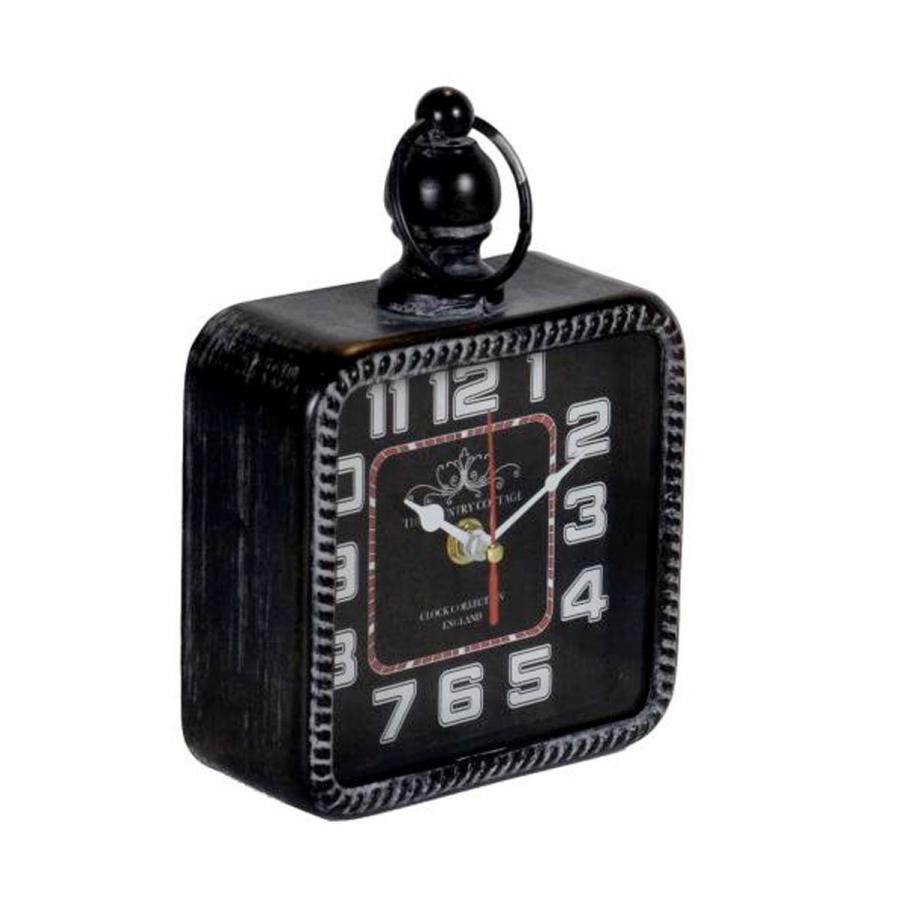 Orologio da appoggio nero vintage