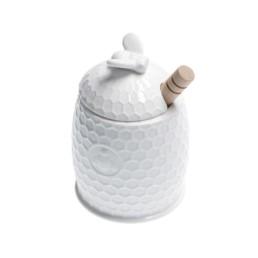 Vasetto Miele con servimiele Aperegina