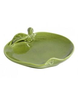 Piatto in ceramica Mela Verde linea Eva