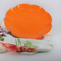 Villadeifiori vassoio rotondo cm 31 arancio