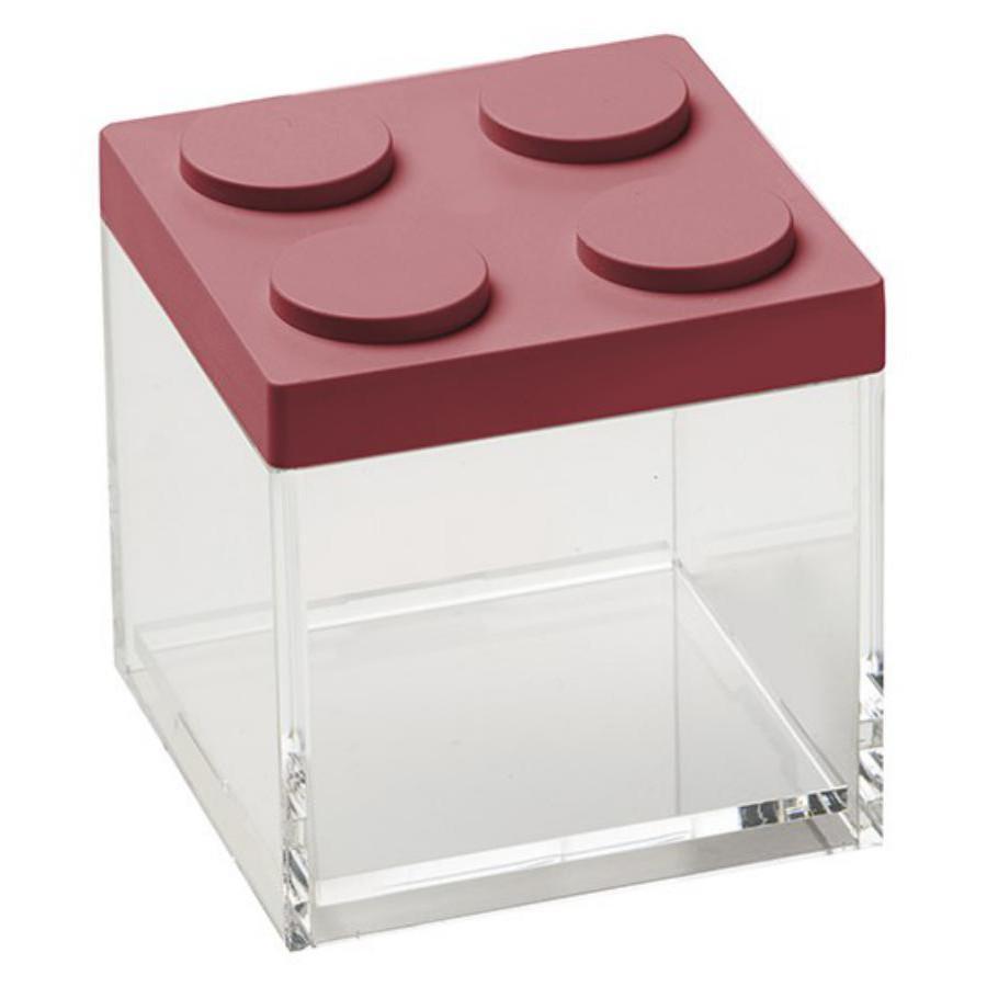 Brick Store contenitore in stile lego rosso