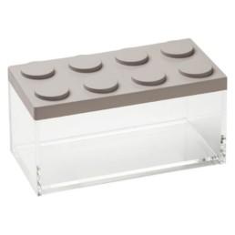 Brick Store contenitore in stile lego colore tortora